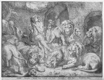 Daniel in the lions' den by Peter Paul Rubens