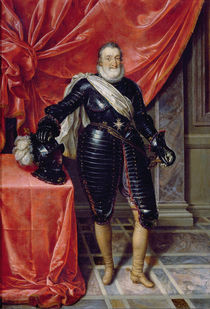 Henry IV, King of France, in armour by Frans II Pourbus