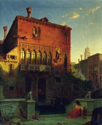The House of Othello, the Moore in Venice von Eduard Gerhardt