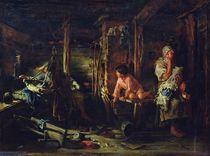 Drunk Husband, 1894 von Kirill Vikentievich Lemoch