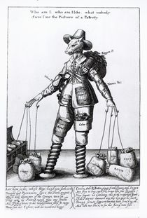 'The Picture of Pattenty', c.1641-50 by Wenceslaus Hollar