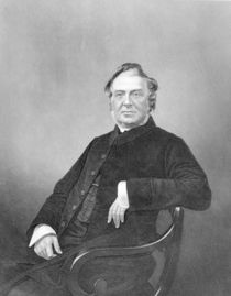 Reverend Hugh Stowell, engraved by D. J. Pound by English Photographer