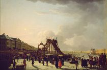 The rollercoasters on the Neva in St. Petersburg by Russian School