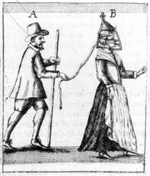 'Scold's Bridle', c.1649 von English School