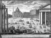 View of St. Peter's, Rome von Giovanni Battista Piranesi