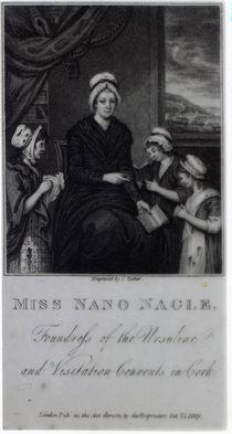 Miss Nano Nagle, 1809 von English School