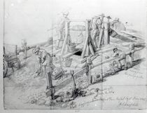 Digging a well in Lower Bedford Place by George the Elder Scharf