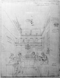 A London Liquor Shop, 1839 by George the Elder Scharf