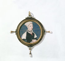 Jane Small, formerly known as Mrs. Robert Pemberton von Hans Holbein the Younger
