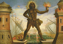Prologue: the Harbour with the Colossus of Rhodes von Giacomo Torelli