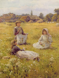 Picking Wild Flowers by William Affleck