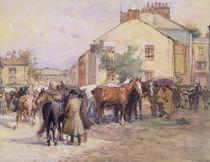 The Horse Fair von John Atkinson