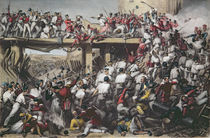 "Storming of Delhi, engraved by T.H. Sherratt by Matthew ""Matt"" Somerville Morgan"