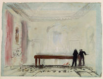 Billiard players at Petworth House by Joseph Mallord William Turner