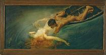 The Siren 1893 by Giulio Aristide Sartorio