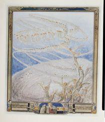 Illustration from Dante's 'Divine Comedy' von Franz von Bayros