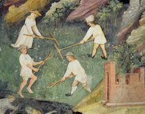 Haymaking in the month of June von Maestro Venceslao