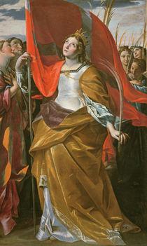 St. Ursula and the virgins von Giovanni Lanfranco