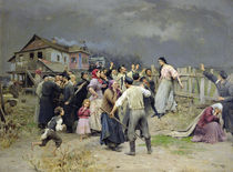A victim of fanaticism, 1899 von Nikolai Pimonenko
