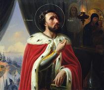 Alexander Nevsky, Duke of Novgorod by Vasili Kuzmich Shebuev