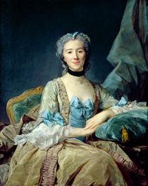 Madame de Sorquainville, 1749 von Jean-Baptiste Perronneau