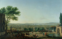 City and Port of Toulon, 1756 by Claude Joseph Vernet