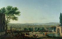 City and Port of Toulon, 1756 von Claude Joseph Vernet