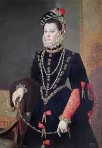 Elizabeth de Valois, c.1605 by Juan Pantoja de la Cruz