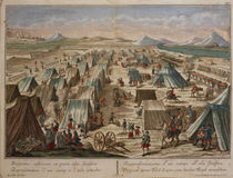 Military camp, c.1780 by Austrian School