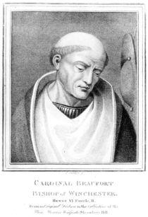 Cardinal Henry Beaufort, Bishop of Winchester von English School