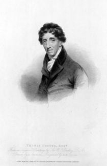 Thomas Coutts, Esq. drawn by A. Chisholm and engraved by R.W. Sievier by William Beechey