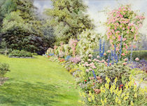 Queen Adelaide's Garden by Lillian Stannard