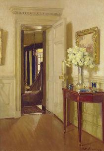 Interior, Gribdae, 1921 by Patrick William Adam