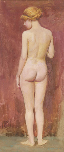 Study of a nude by Murray Bladon