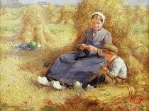 Midday rest, 1915 von William Kay Blacklock