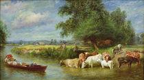 A Midsummer's Day on the Thames von Basil Bradley