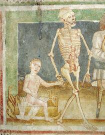 The Dance of Death: Death and the child von Janez Kastav