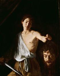 David with the Head of Goliath von Michelangelo Merisi da Caravaggio
