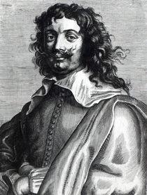 Adriaen Brouwer, engraved by Edme de Boulonois von Anthony van Dyck