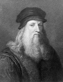 Leonardo da Vinci, engraved by Raphael Morghen von Leonardo Da Vinci