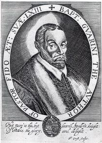Battista Guarini, frontispiece to 'Il Pastor Fido' by Thomas Cross