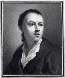 Anton Raphael Mengs, engraved by Nicolaus Mosman by Anton von Maron