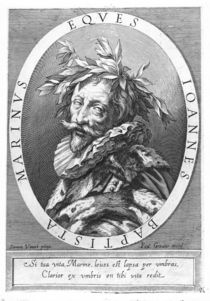 Giambattista Marino by Simon Vouet