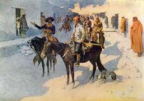 Zebulon Pike Entering Santa Fe von Frederic Remington