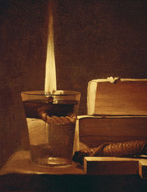 The night light, 1630-35 von Georges de la Tour