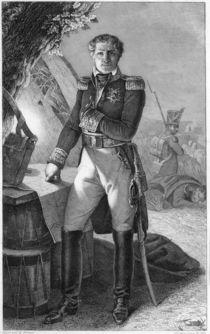 Portrait of Laurent de Gouvion Saint-Cyr by Antoine Charles Horace Vernet