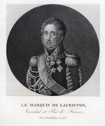 Jacques Law, Marquis de Lauriston von French School
