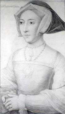 Jane Seymour, c.1536 von Hans Holbein the Younger