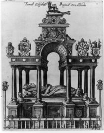 The Tomb of Elizabeth I, 1620 von Dutch School