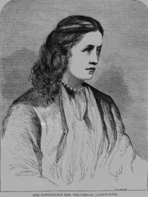 The Hon. Mrs Yelverton, illustration from 'Illustrated Sporting News' by English School
